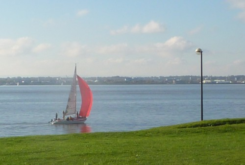 Yacht at Otterspool