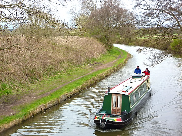 17 Lydiate narrow boat