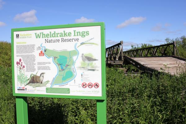 MNA Wheldrake Ings Sign