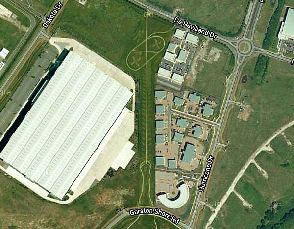 32 Speke aerial view