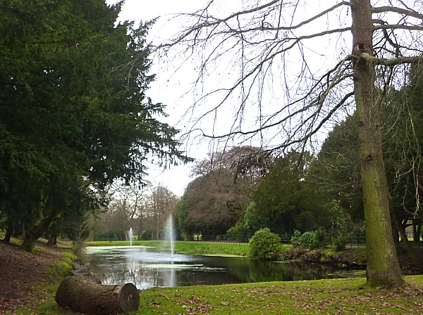 45 Croxteth statue pond