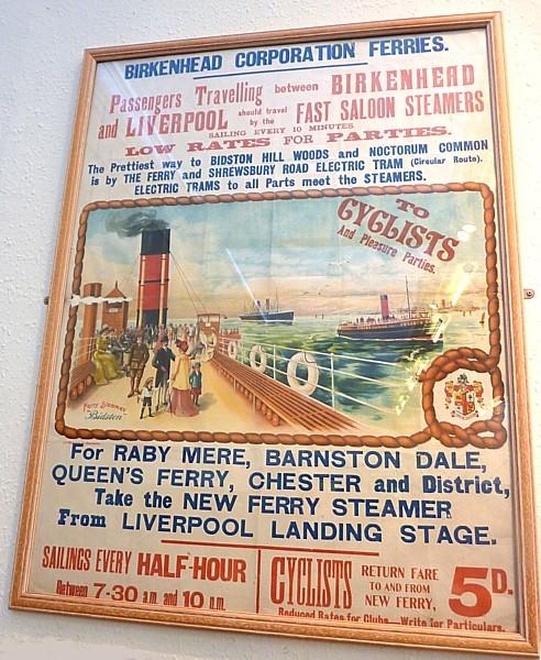 05 Birkenhead Park ferry poster