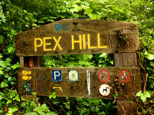 23 Cronton Pex Hill sign