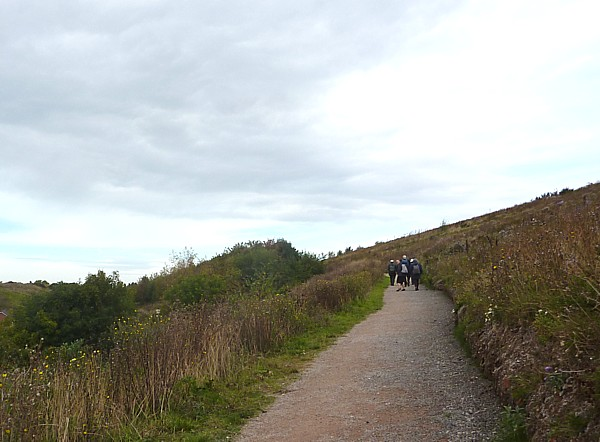 39 Sunlight climbing path