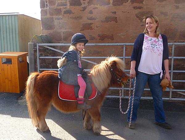 12 Thornton Hough pony girl