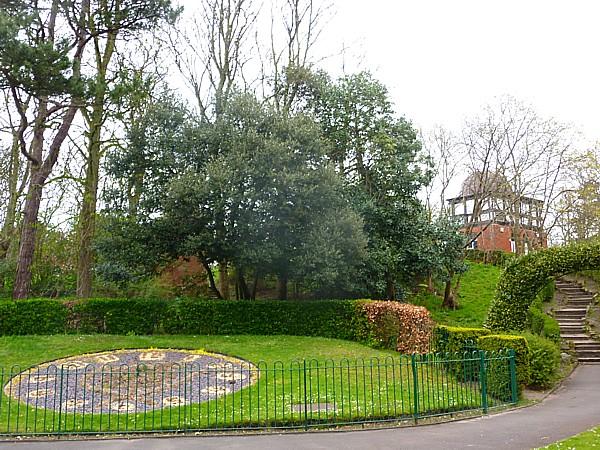 16 Hesketh park sunken garden