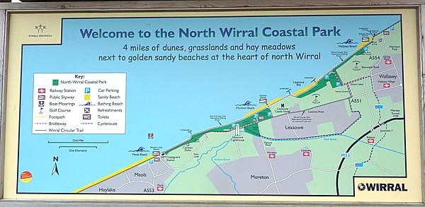 20 Leasowe coastal park sign