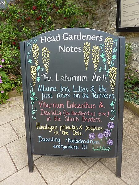 23 Bodnant Head gardeners notes