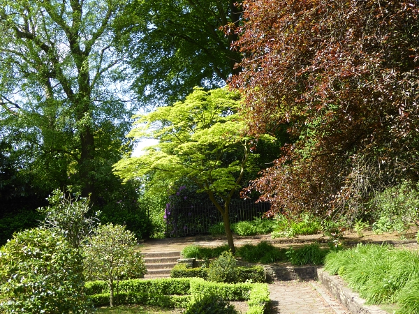 20 Allerton sunken garden