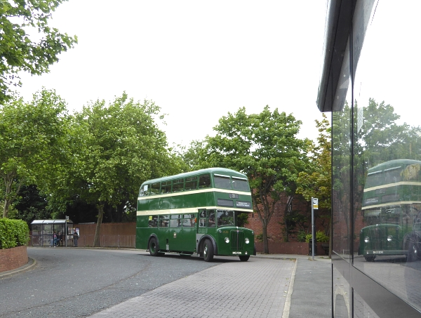 23 Burscough bus