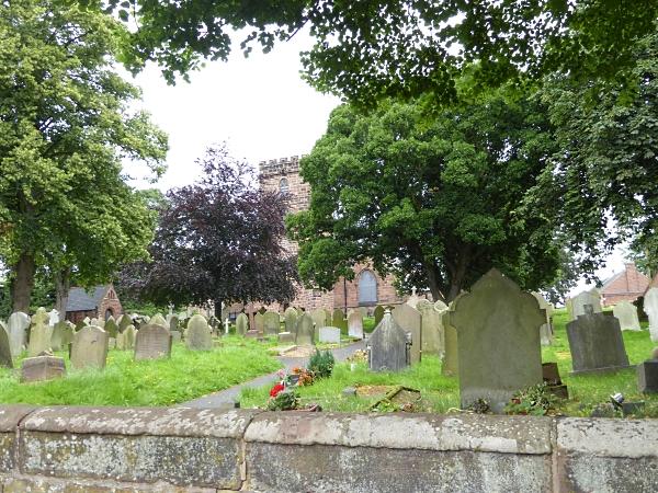 27 Neston churchyard